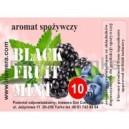 BLACK FRUIT - MINT comestible flavour
