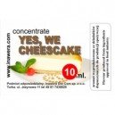 YES, WE CHEESECAKE comestible concentrate